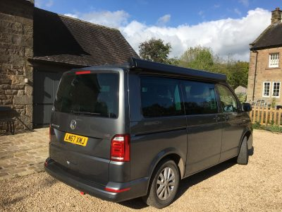 VW California Beach TDI BMT in indium grey metallic DSG