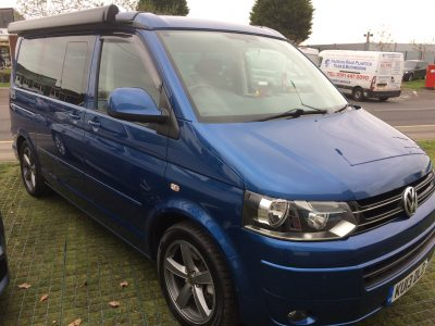 VW California SE 180 BITD Full leather interior.