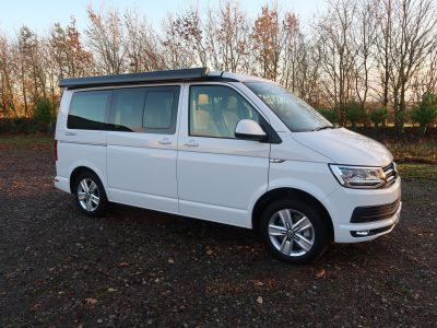 VW California Ocean 150PS DSG Candy White - March 2017