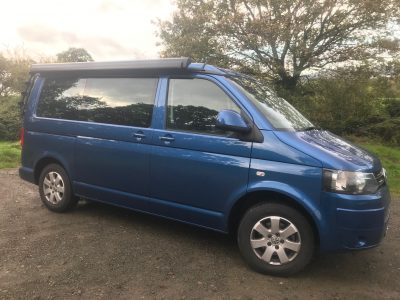August 2015 Blue T5 California Beach 7 Seat 140 DSG