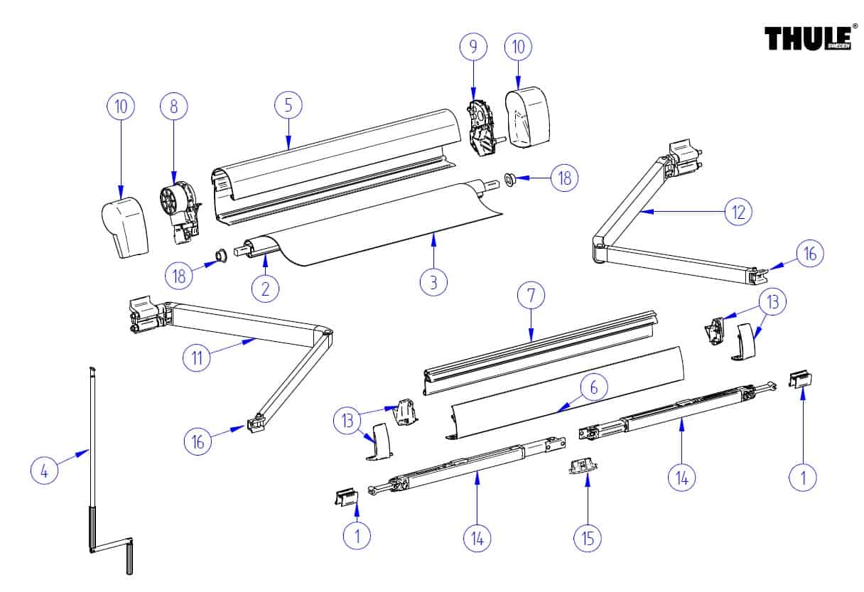 awning replacement parts related keywords