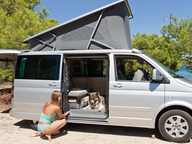 brandrup flyout for sliding door of vw t5 t6 california. Black Bedroom Furniture Sets. Home Design Ideas