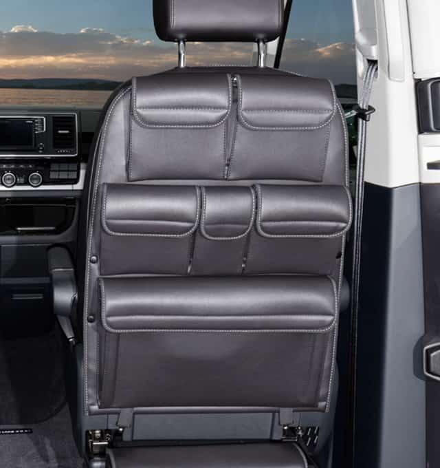brandrup r h storage pockets for cabin seats vw t6 t5. Black Bedroom Furniture Sets. Home Design Ideas