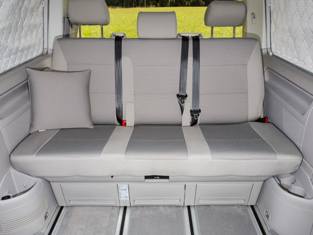 Brandrup Second Skin Seat Covers For VW T6 California