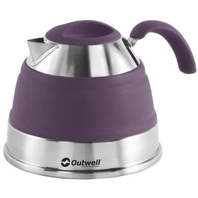 Outwell Collaps 1 5l Collapsible Kettle Various Colours