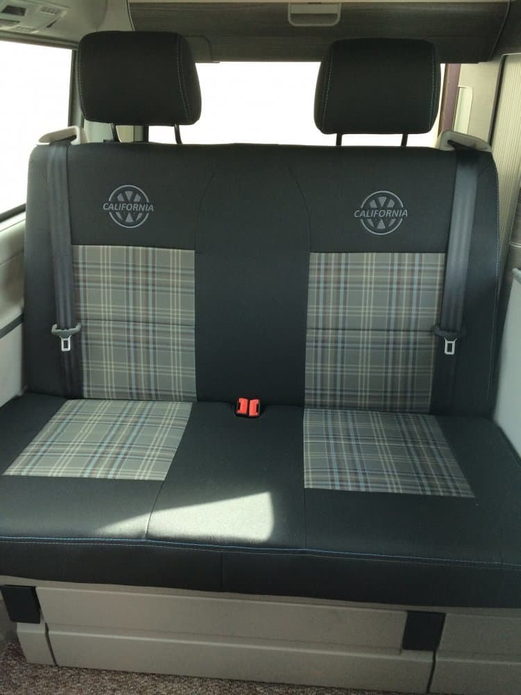 Premium Gti Fabric Seat Covers For Vw California Everything Vw