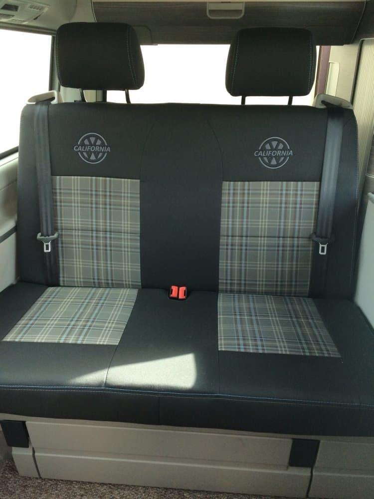 Premium Gti Fabric Seat Covers For Vw California