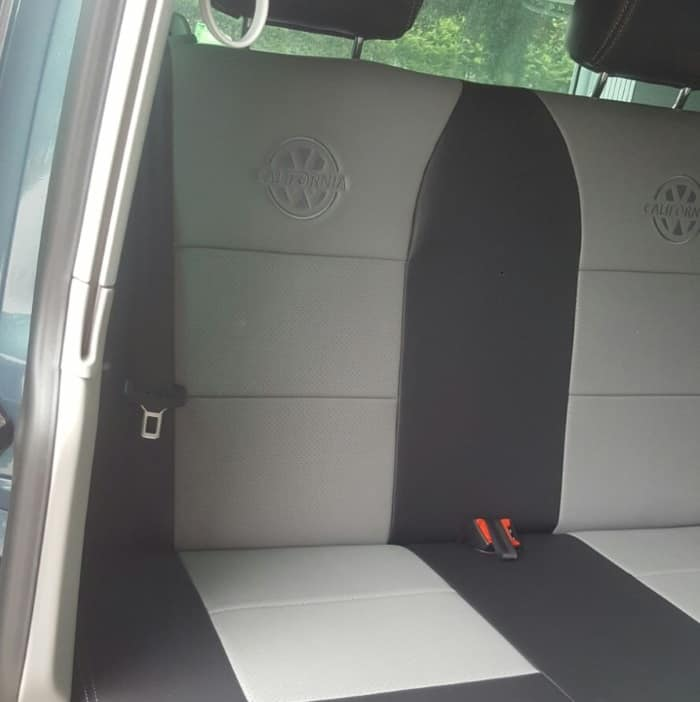 Premium Leather Look Seat Covers For VW California