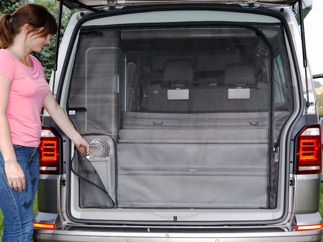 Brandrup Shower Bag Storage For The Rear Wardrobe Vw T6