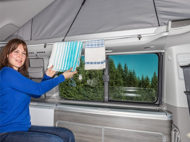 brandrup towel rail set for all vw t6 t5 california. Black Bedroom Furniture Sets. Home Design Ideas