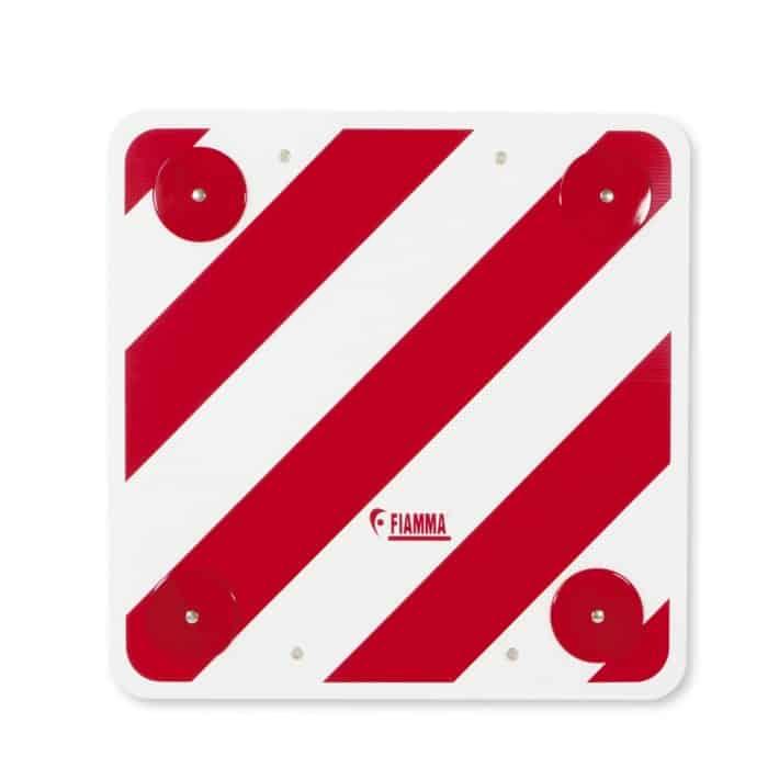 Fiamma Bike Rack Hazard Sign With Reflectors 14780