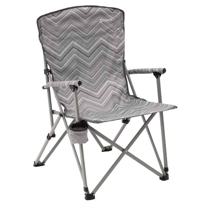 Outwell Spring Hills Upright Foldable Chair Grey