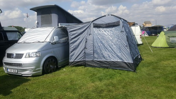 SunnCamp Lodge 200 Drive Away Awning - 2020 Model (toilet ...