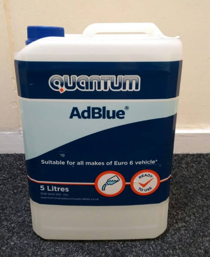 AdBlue Diesel Exhaust Fluid – Everything VW California