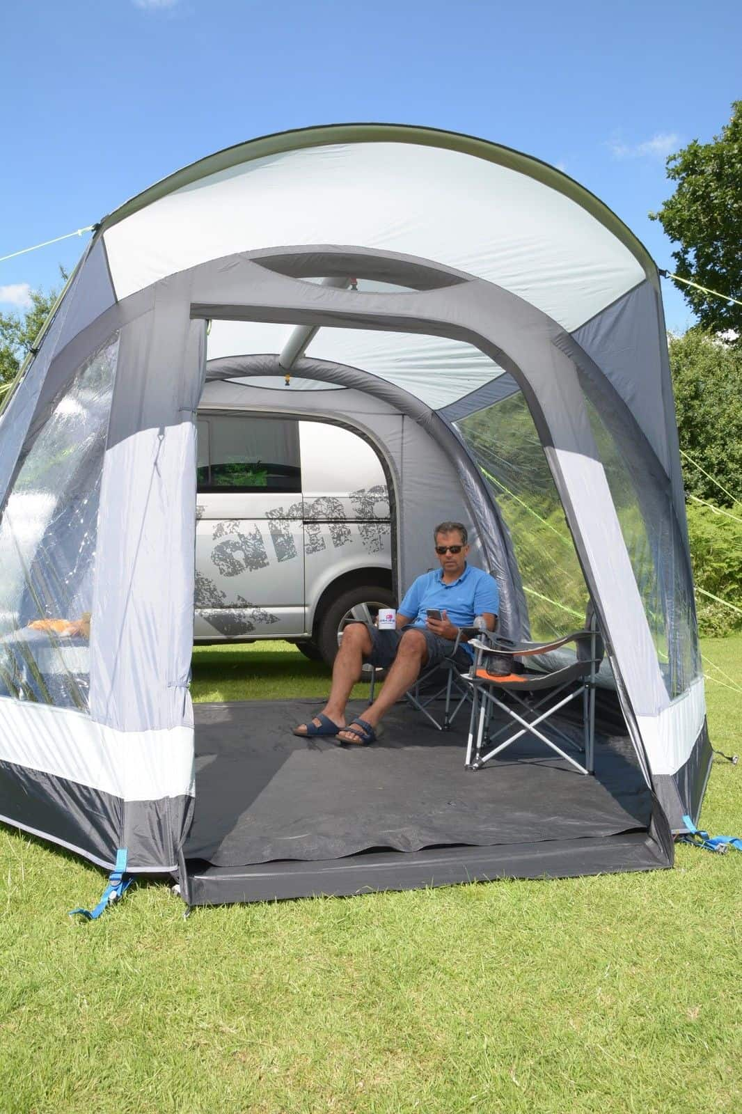 Kampa Travel Pod Action Air Drive Away Awning Vw Version