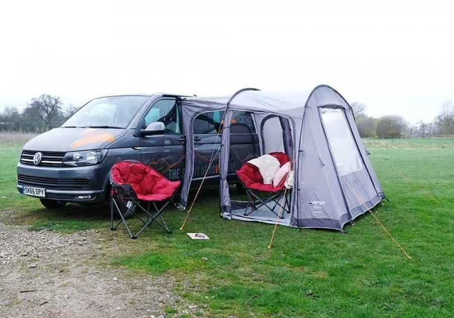 Vango Faros Low Drive Away VW T5 T6 Campervan Awning -2020 ...
